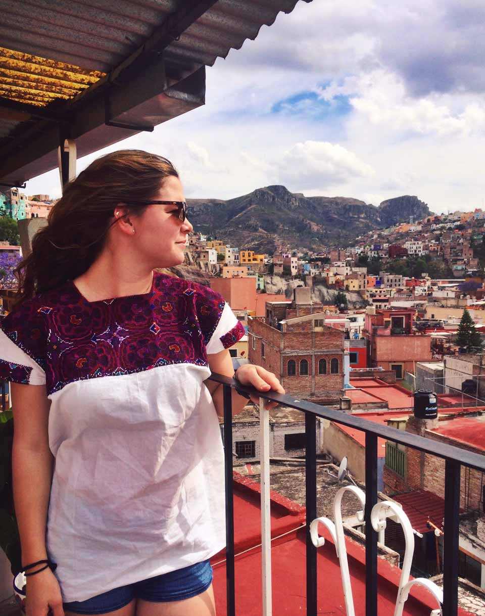 Pictured : Fran Reuland, UNC Global Course Guanajuato Class of 2016